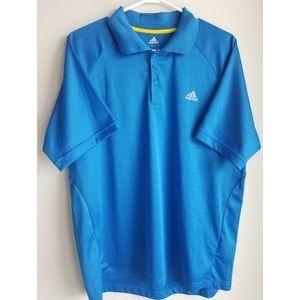 Mens Adidas Large Climalite Golf Polo - Br…